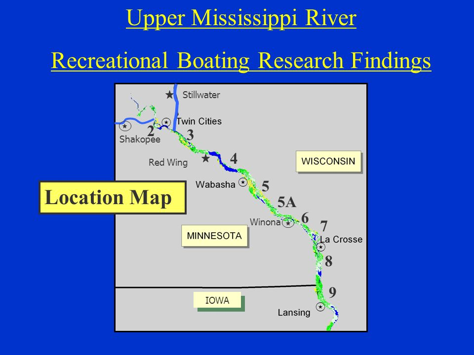 Upper Mississippi River Recreational Boating Research Findings