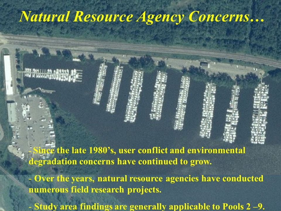 Natural Resource Agency Concerns…