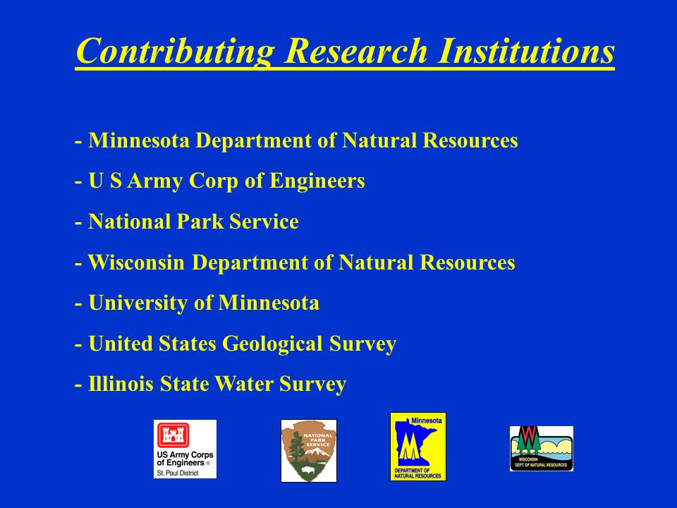 Contributing Research Institutions