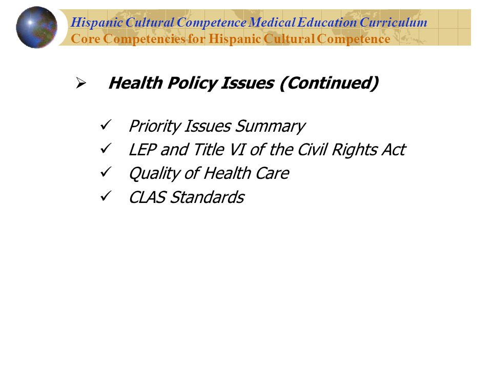 health care policy issues Guide to the issues: health care  16th, 2018 2017 forum delivers promising  policies on taxes, health care, education - october 27th, 2017 view all articles.