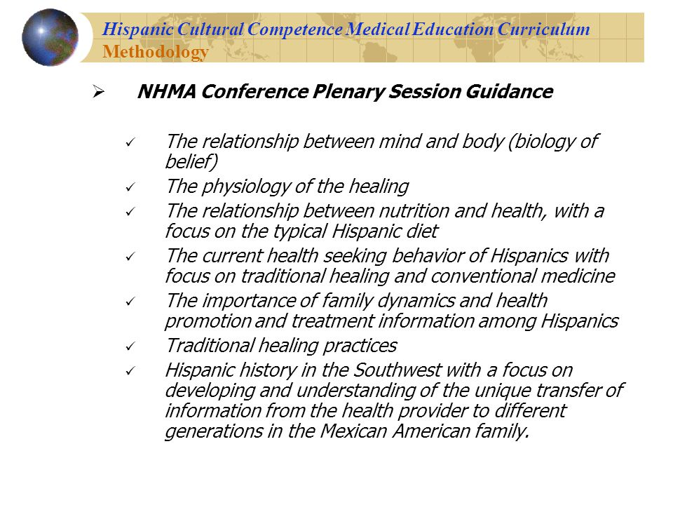 Hispanic cultural health beliefs and folk remedies.