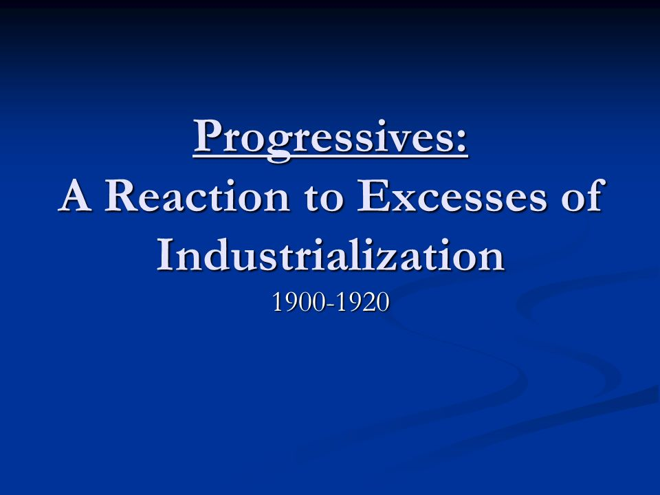 reaction to industrialization essay When the industrial revolution began in england in the second half of the eighteenth century, manchester witnessed a shift from the traditional economic system that was based on farming, to a reliance on specialized labor, manufacturing, and factories the changes that resulted from the beginnings.