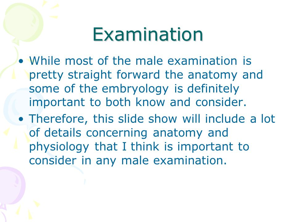 history and examination of the reproductive Annual gynecological exam in order to maintain good reproductive and sexual health, females should visit a gynecologist- a doctor who specializes in females' reproductive health- for an.