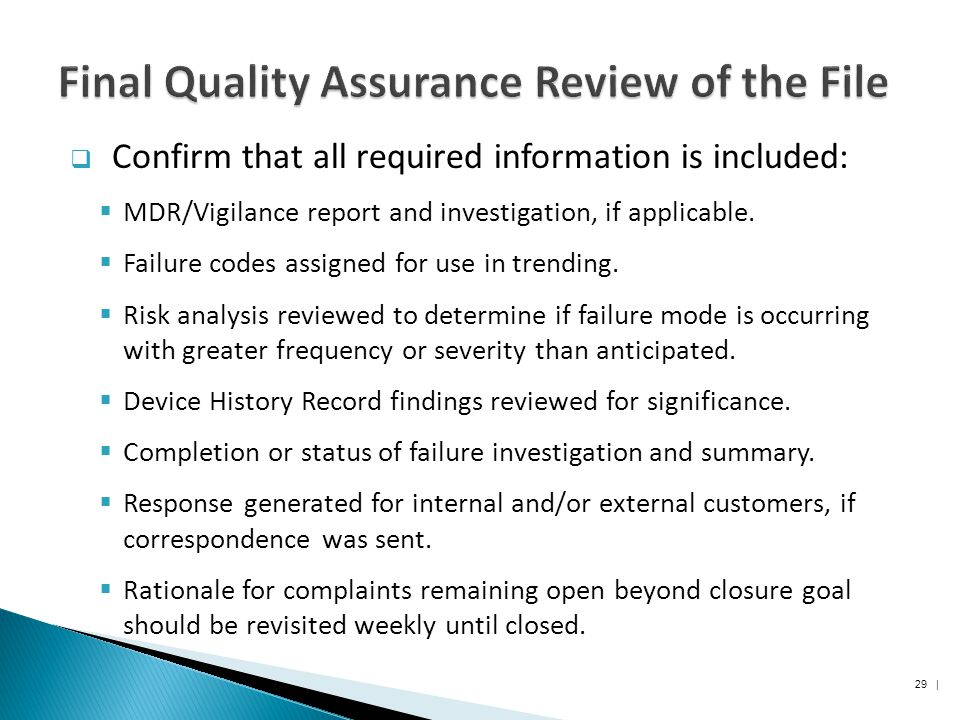"final report on quality assurance of The report discusses principles and concepts based on the definitions of distance   ""quality assessment and assurance for distance education in professional   services (hhs) released final privacy regulations relating to the protection of."