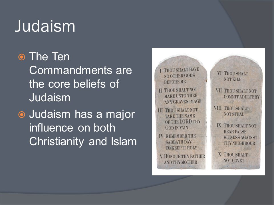 core beliefs of christianity and judaism relationship