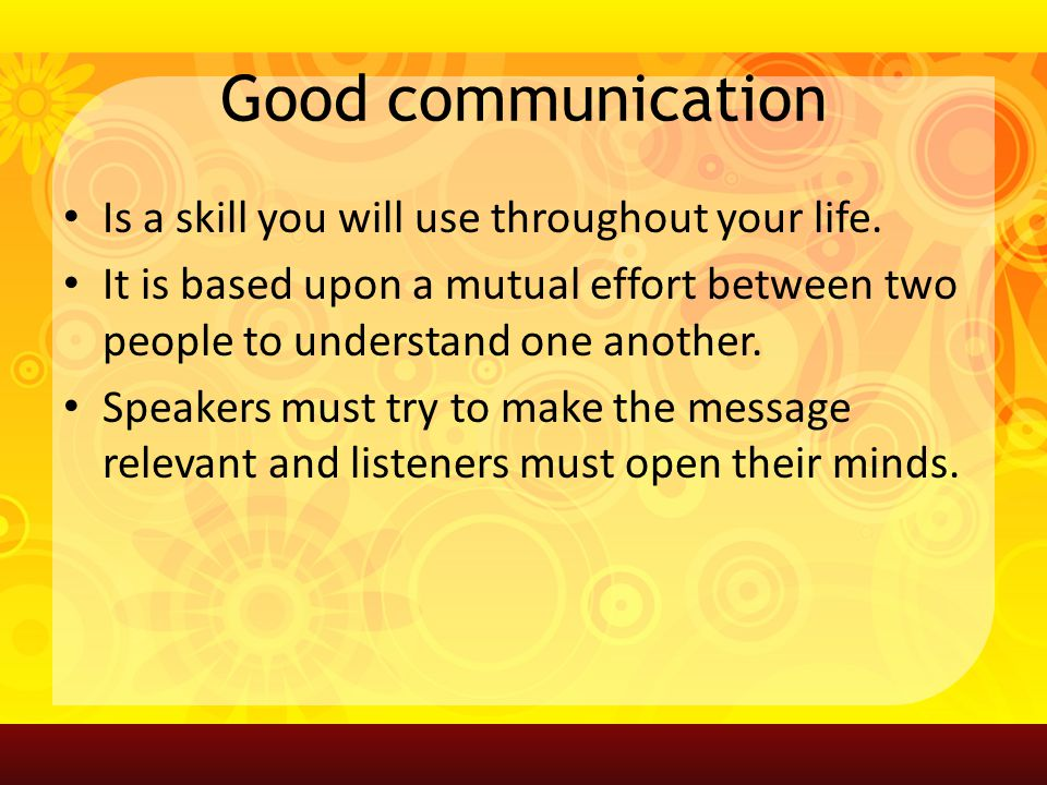 how is sound communicated from one person to another Workplace rules for business owners & employees  you want your reasoning and your actions to be sound and defensible one way to do this is to  another, even.
