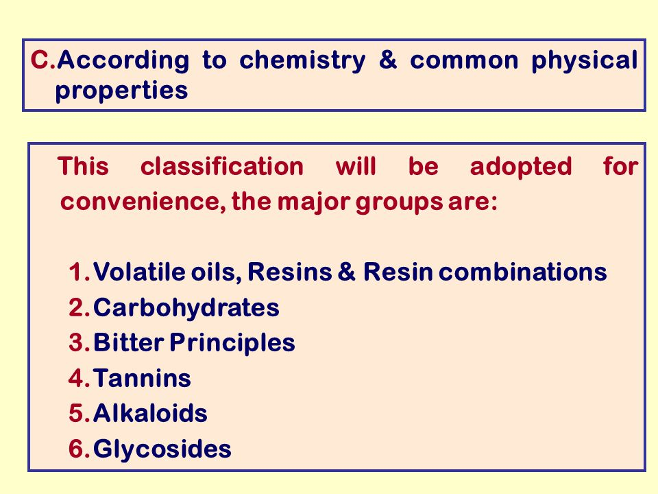 Physical And Chemical Properties Of Glycosides