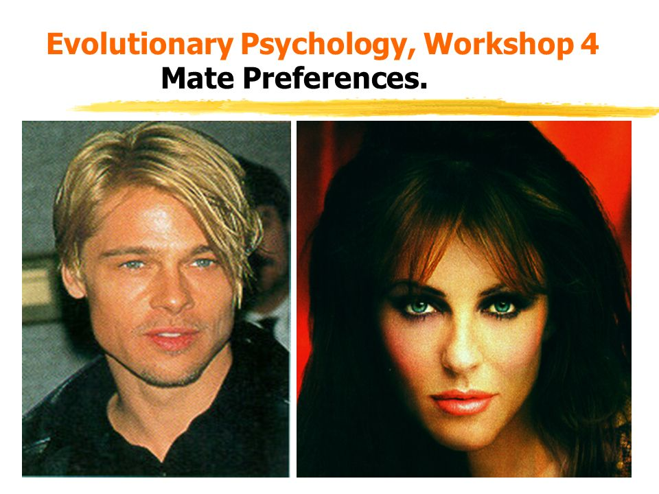 human mate preferences 1 mate preferences chapter outline theoretical approaches to human mating social context theories: the world that is evolutionary models: the world that was.