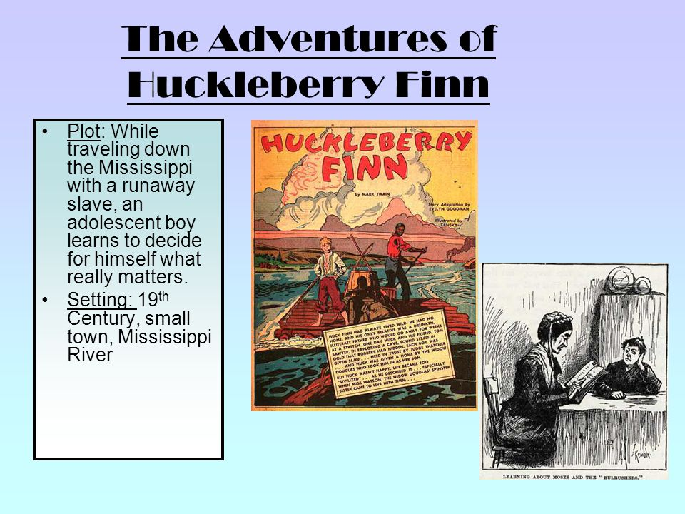 "Mark Twain's romantic digressions in ""Adventures of Huckleberry Finn"""