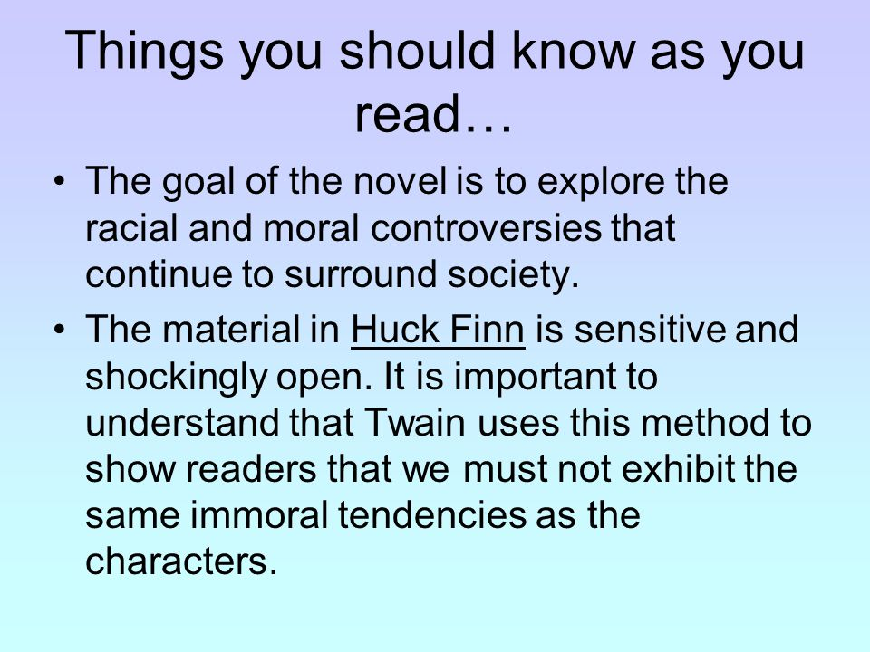 an analysis of the use of satire in adventures of huckleberry finn by mark twain - the use of satire in the adventures of huckleberry finn in his novel the adventures of huckleberry finn, published in 1884, mark twain uses satire frequently as a medium to display his feelings on a range of issues related to society at that time.