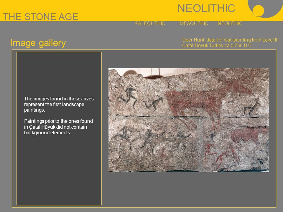 paleolithic and neolithic art essay Paleolithic vs neolithic art essaysthe following is a comparison of art  from the paleolithic and neolithic periods in history paleolithic art is art that was .