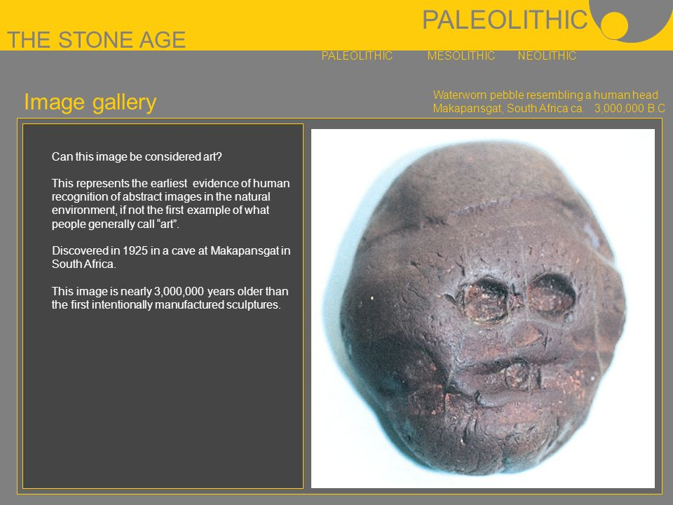 paleolithic neolithic and mesolithic art Roughly 40,000 years ago marked the start of the paleolithic art period, which saw the rise of homo sapiens and their ability to create tools and art.