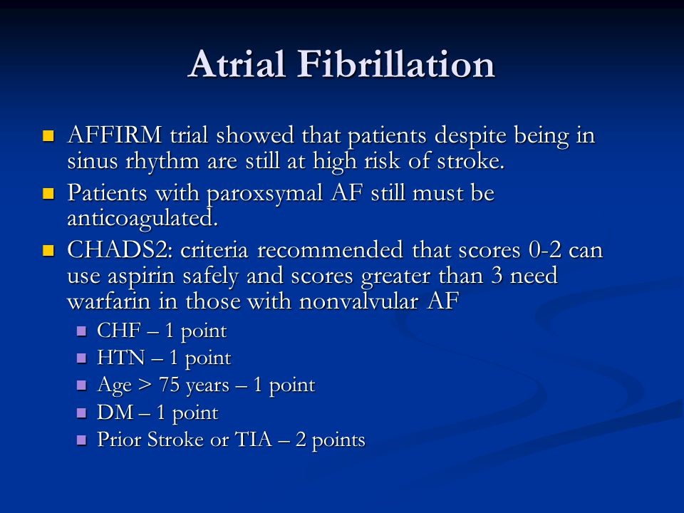 The Atrial Fibrillation Follow-up Investigation of Rhythm ...