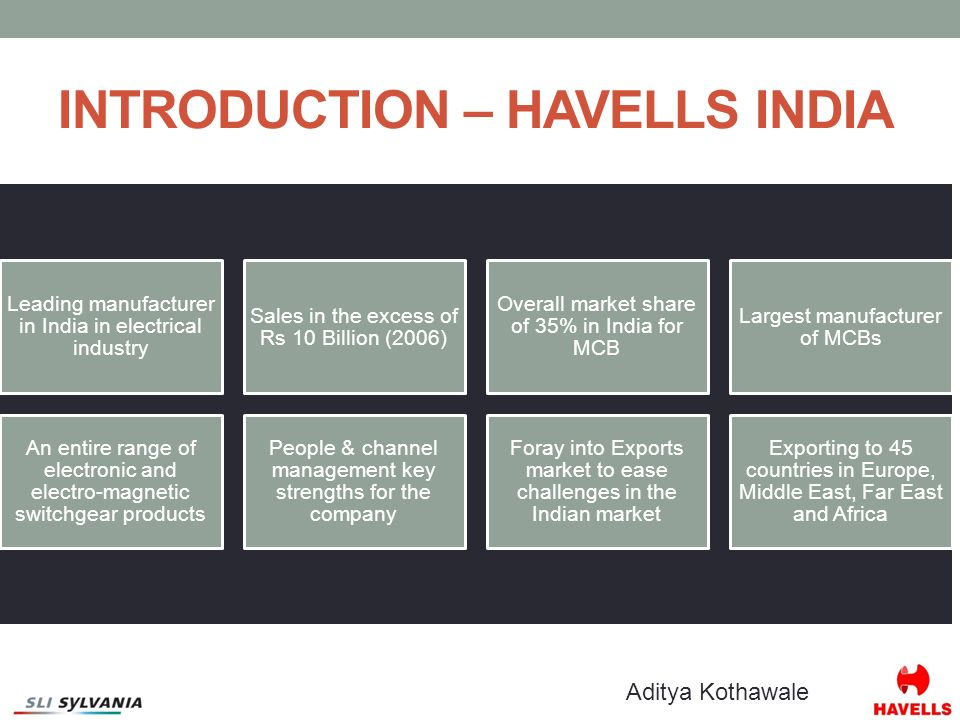 havells india the sylvania acquisition decision Read more about next acquisition will be in overseas market: qimat rai gupta  founder chairman of havells india  what was the logic behind sylvania acquisition.