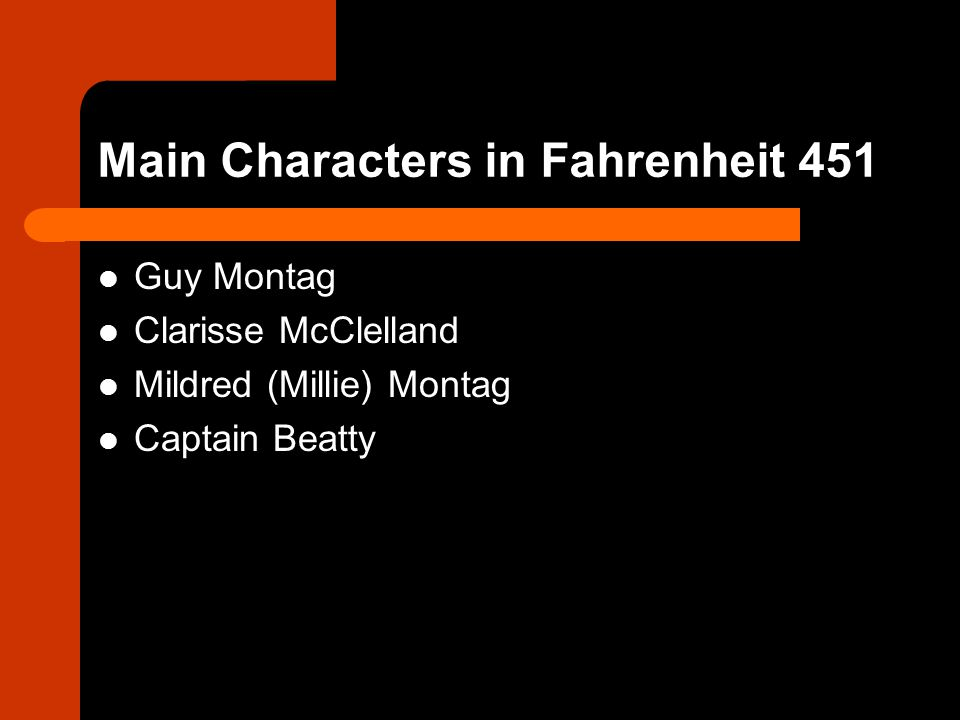 fahrenheit 451 3 characters that helped Fahrenheit 451 trailer 3 hbo has released the third tv movie trailer for fahrenheit 451 (2018) fahrenheit 451's plot synopsis: the film is based on ray bradbury's classic novel of the same .