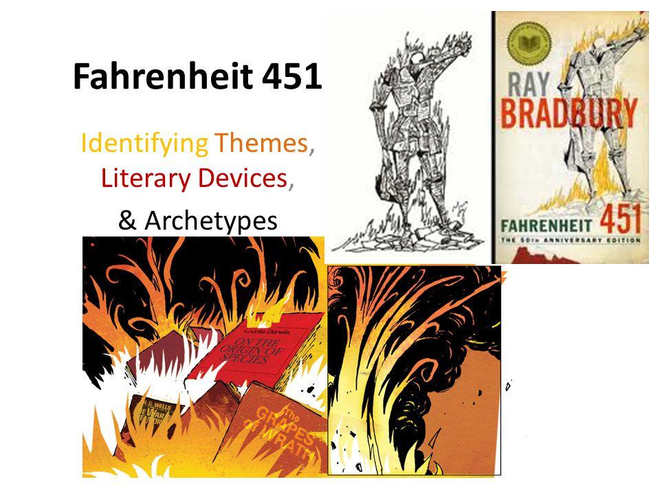 stylistic devices in fahrenheit 451 Literary devices in fahrenheit 451 by ray bradbury allusion first fireman: benjamin franklin (bradbury 34) alliteration denham's.