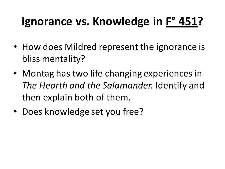 Knowledge vs ignorance essay