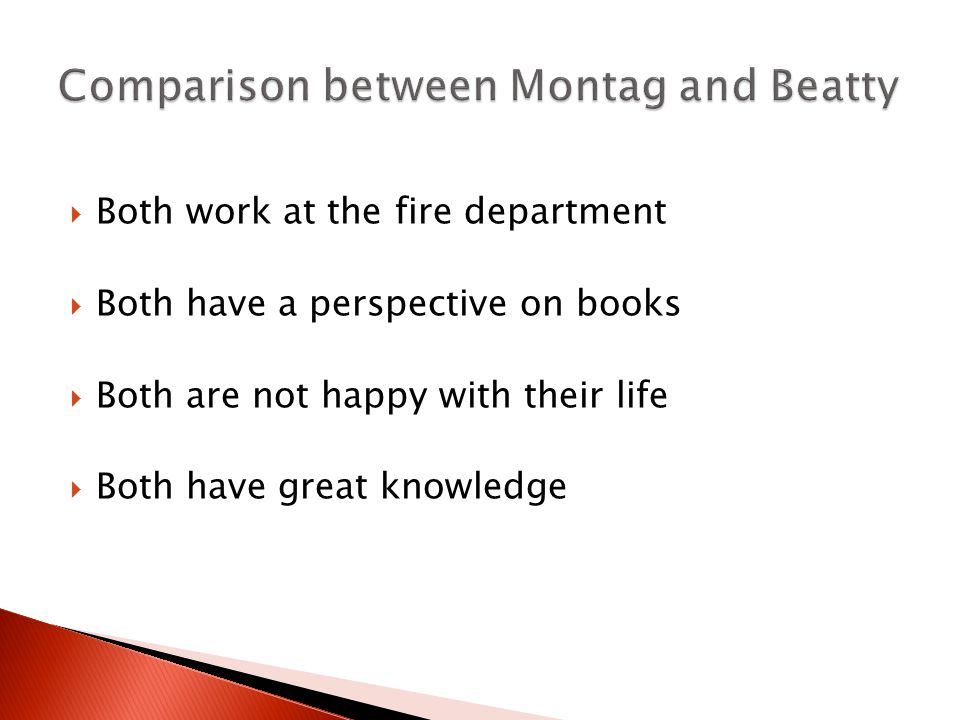 fahrenheit 451 relationship between montag and faber