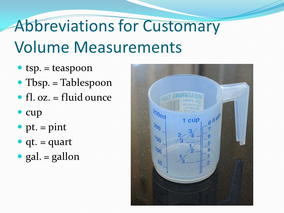 Measuring basics ppt download for 1 tablespoon vs teaspoon