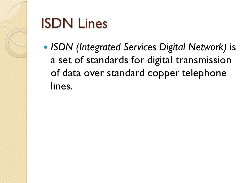 the difference of speed between the standard telephone lines and the digital telephone lines This essay will opinionate the difference between standard telephone lines and digital telephone lines my favor in this subject would be digital, offering faster send/receive rates basically, computers operate with digital signals which is then sent through a modem to convert the data into an .