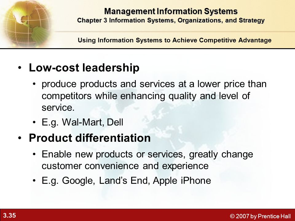 Cost leadership of apple