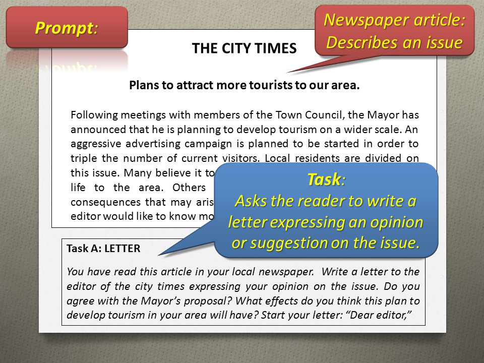 writing and local newspapers articles