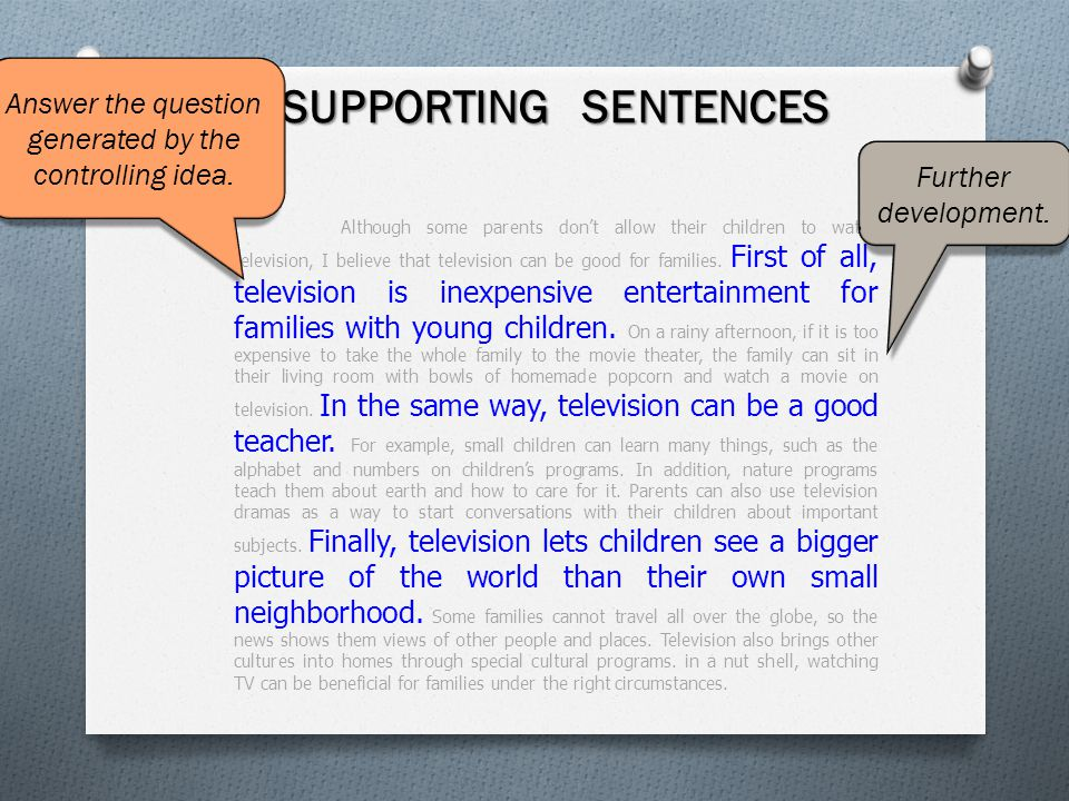 television is good for young children essay While television can entertain, inform, and keep our children  from viewing  some television shows, such as learning positive aspects of social.