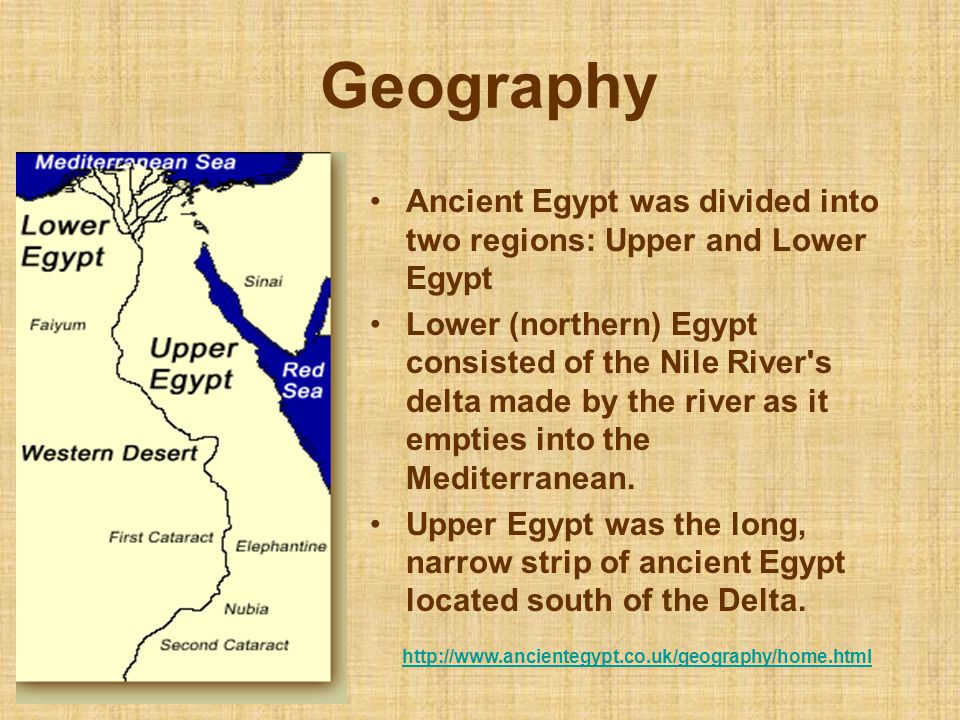 Ancient/Biblical History » Egypt