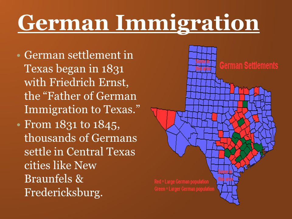 immigration in texas One in six texas residents is an immigrant, while 15 percent of residents are native-born us citizens with at least one immigrant parent.