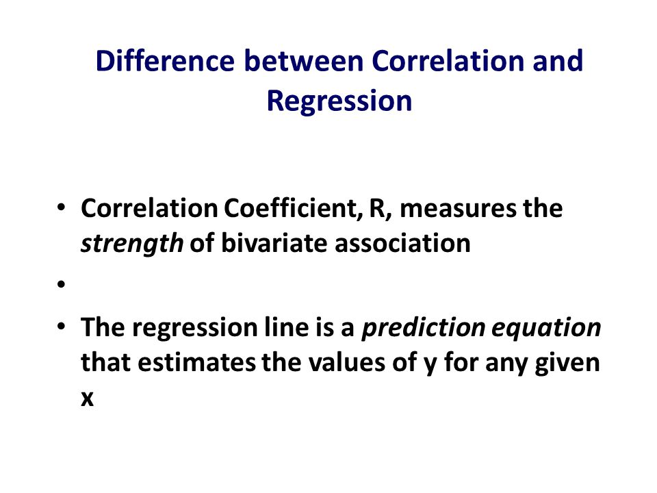 relationship between correlation coefficient and regression