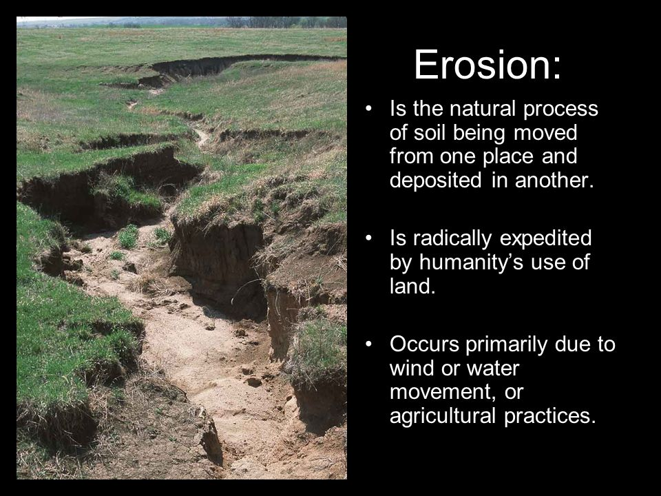 Mitigation and soil erosion ppt video online download for Three uses of soil