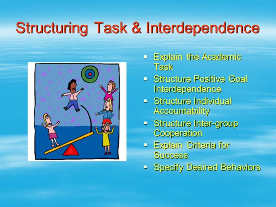 Structuring Task & Interdependence