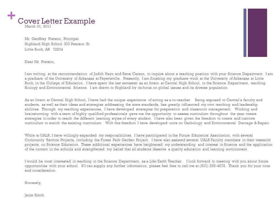cover letter for high school principal position Writing a cover letter principal high school for creative learners if my education and experiences are of interest to you and the position for a high school.