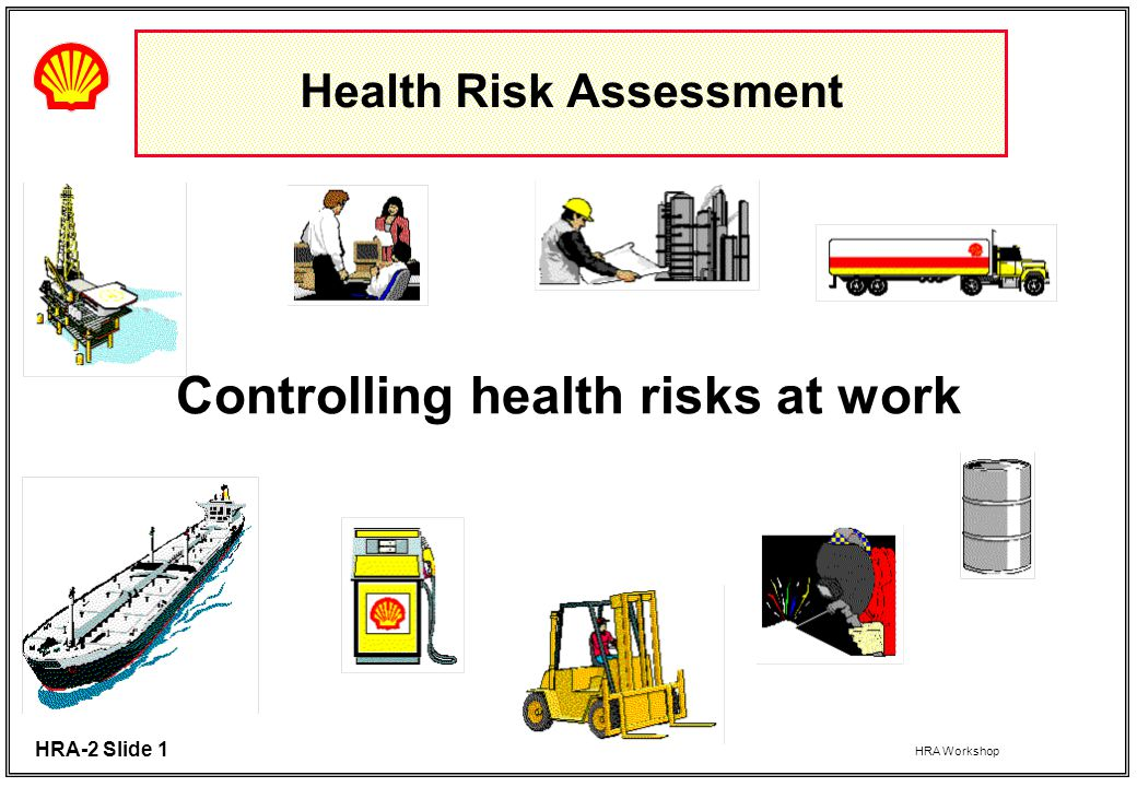 Health Risk Assessment  Ppt Download
