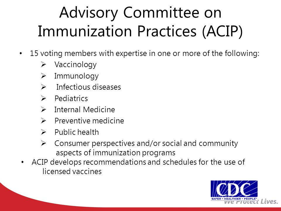 Summary of adolescent adult immunization recommendation