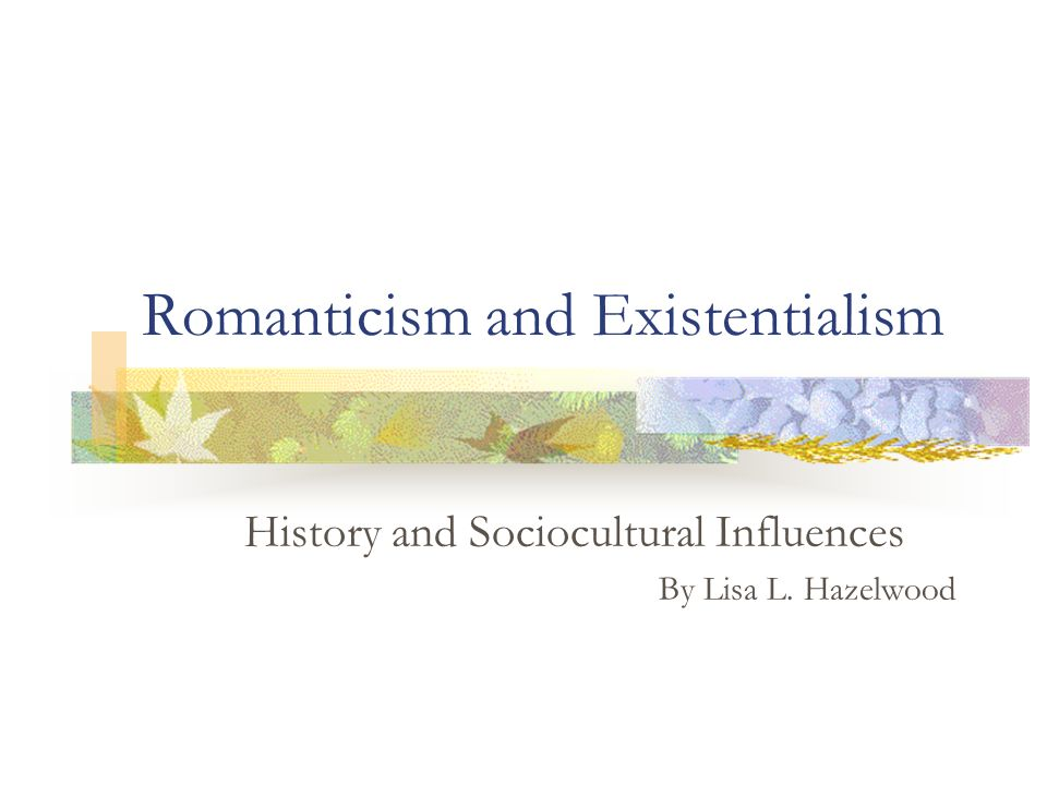 an analysis of the topic of the romanticism as an artistic and intellectual movement Romanticism is a movement in literature and art  romanticism remained an intellectual and artistic movement that is characterized by  analysis of sucess is.