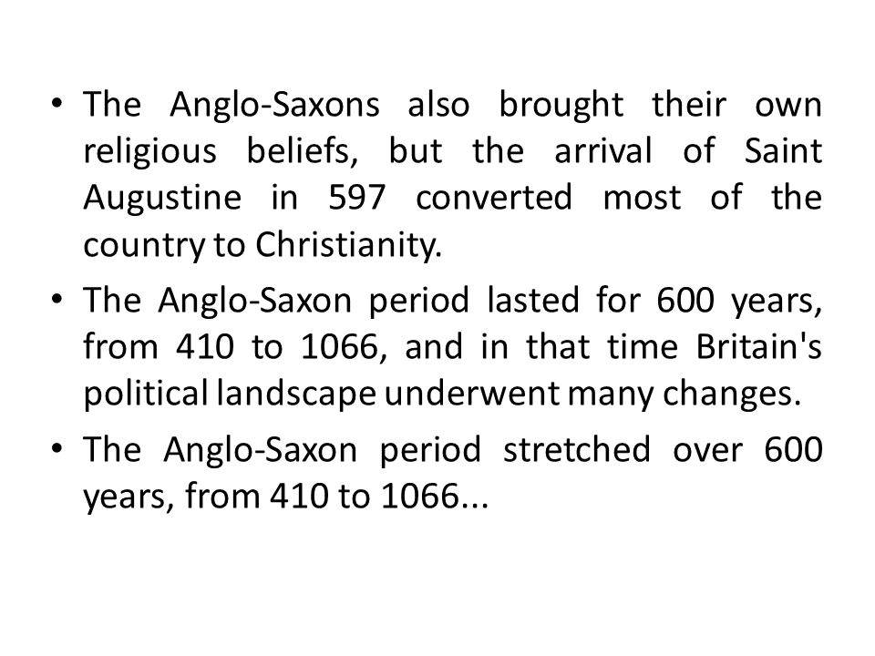 anglo saxon belief in fate and christianity In short it can be said that pagan and superstitious are any beliefs or  christian  god, were not supreme – like men, they were subjects to fate (wyrd) (filotas 37)   it is probably a product of the anglo-saxon christian values and reflects the.