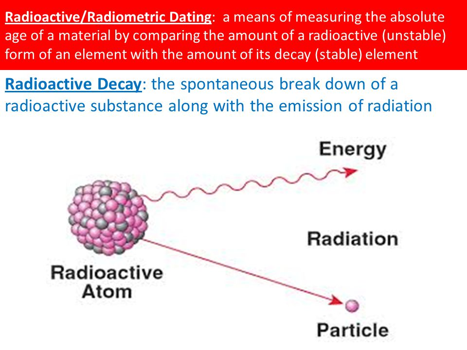 Definition of radioactive hookup in chemistry