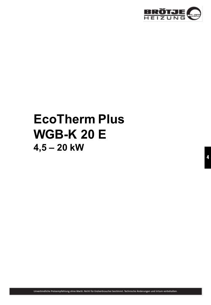 EcoTherm Plus WGB-K 20 E 4,5 – 20 kW