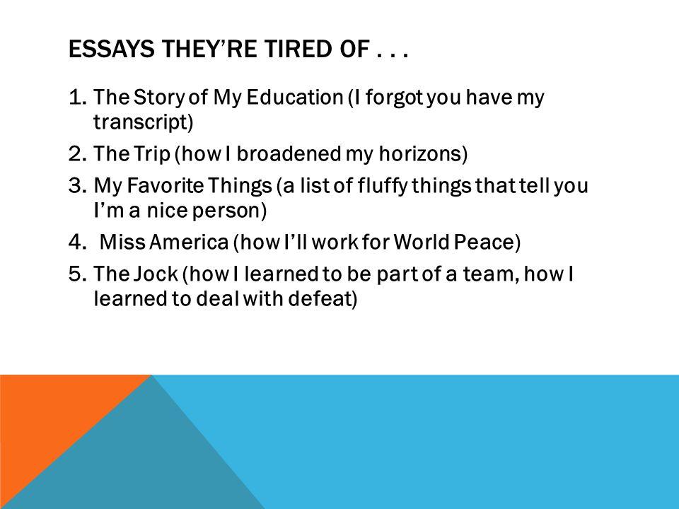 high school reflective essays