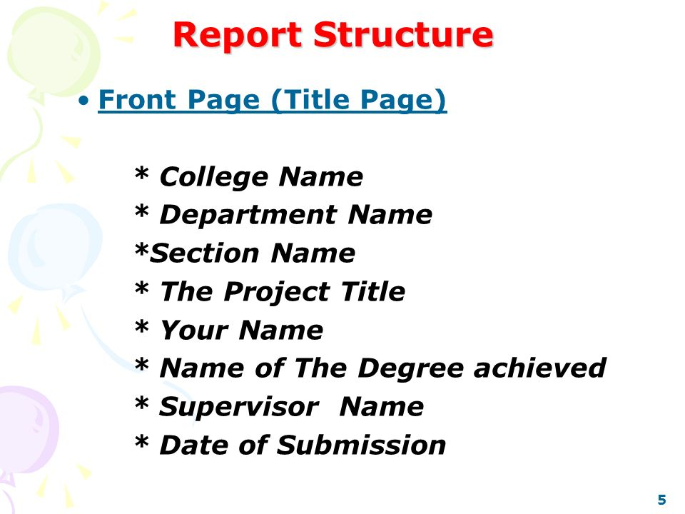 Example Of A Short Formal Report  Commerce Invoicereport