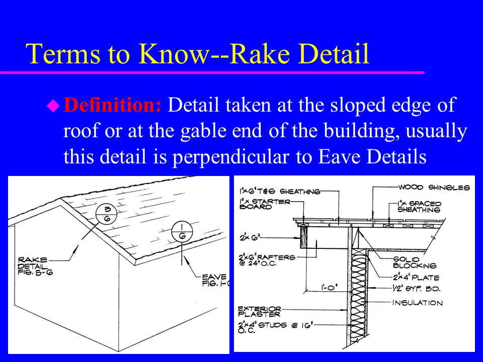 Roof connection details ppt video online download for What is roof sheathing definition