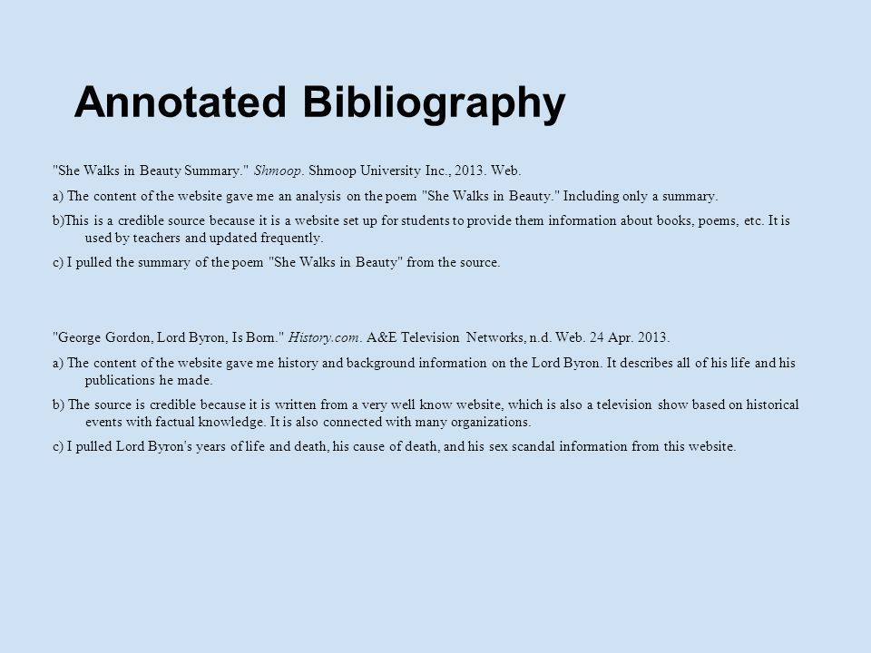 annotated bibliography 18 Modified annotated bibliography compiled by angie baskins,  journal of  college orientation & transition, 18(2), 23-36 the major purpose of this study  was.