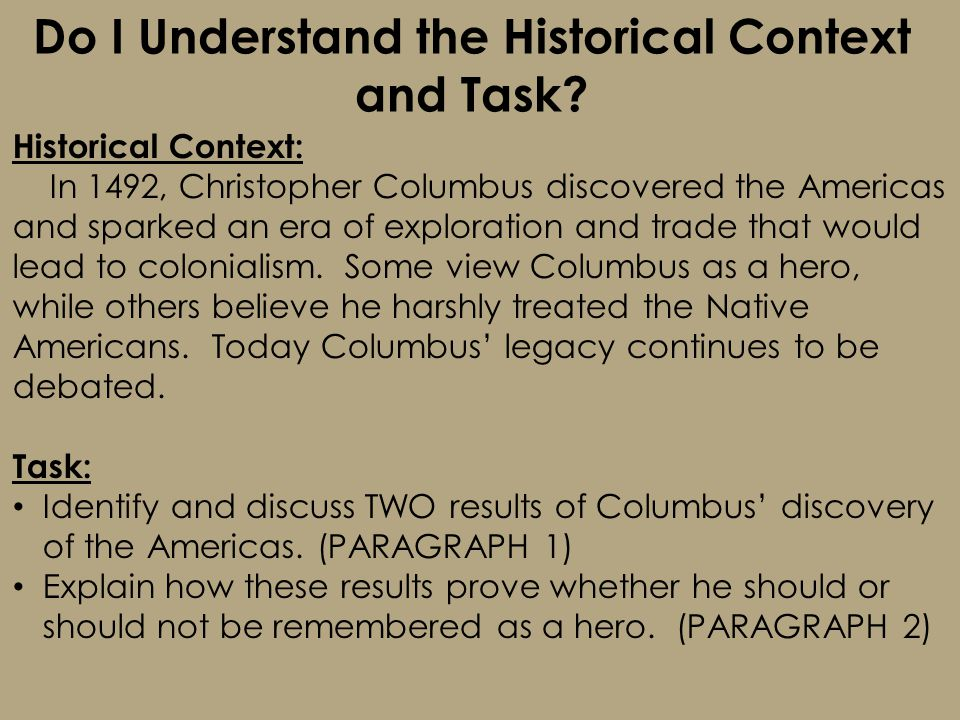 Christopher columbus legacy essay