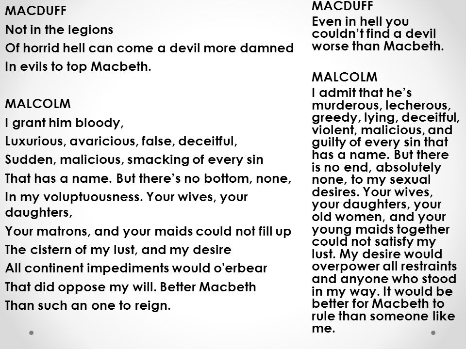 explore the ways that macbeths desire Explore the ways that macbeth's desire for power are presented in macbeth 656 words | 3 pages more about powmac macbeth's obsession with power essay.