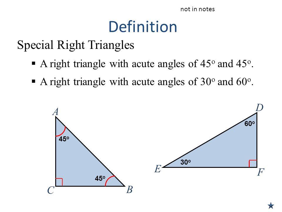 Acute Isosceles Triangle