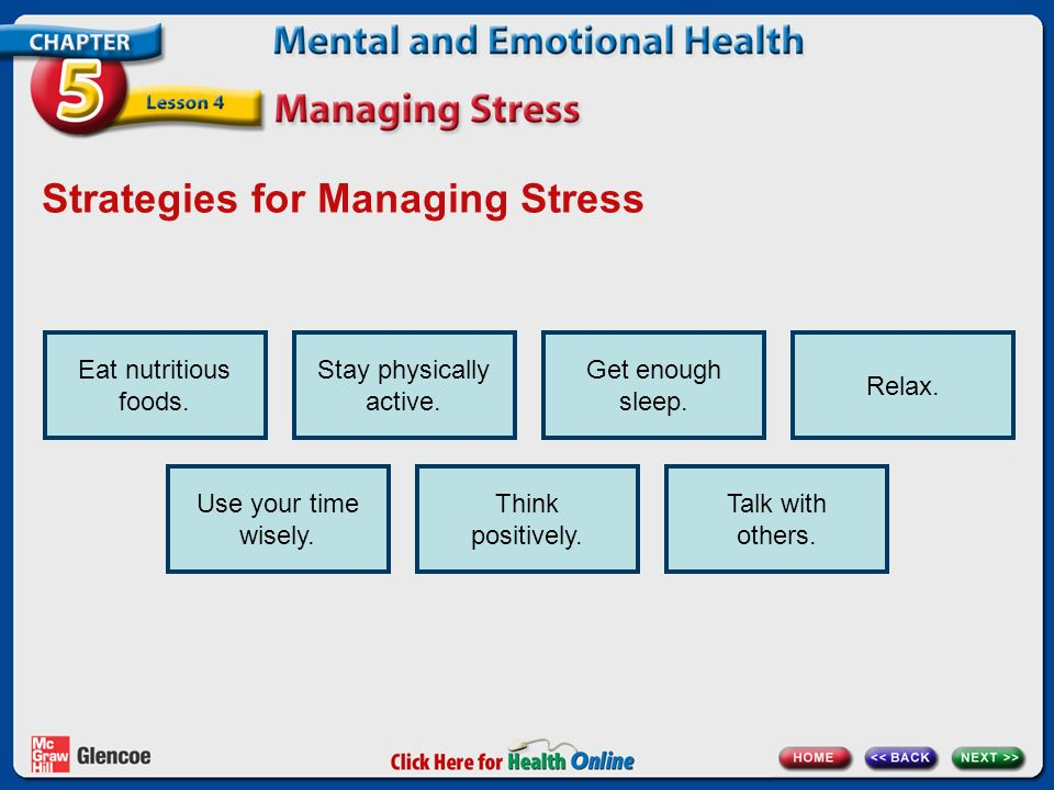strategies for managing stress essays The root of stress management is realizing stress is information that we can  examine and use, and the first step in understanding that data is.