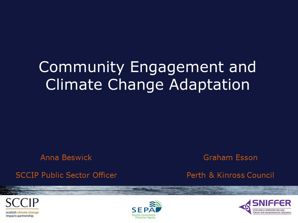 Community Engagement and Climate Change Adaptation