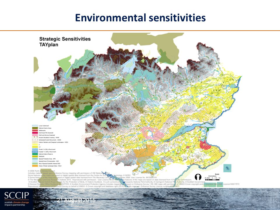Environmental sensitivities