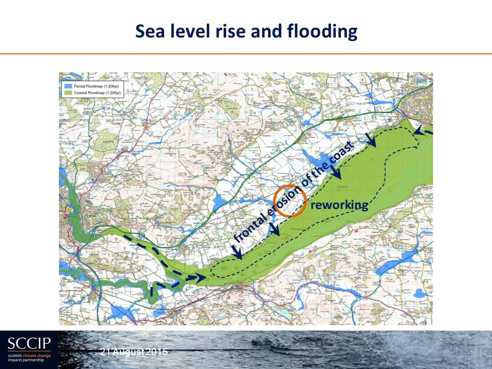 Sea level rise and flooding